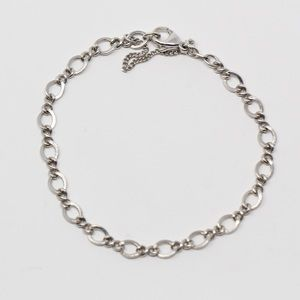 JAMES AVERY Sterling Medium Twist Charm Bracelet M